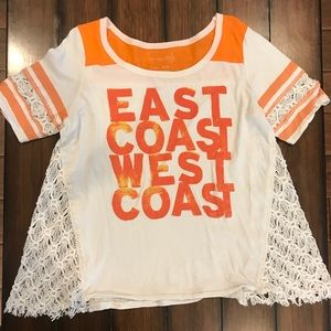 We The Free East Coast West Coast Tee